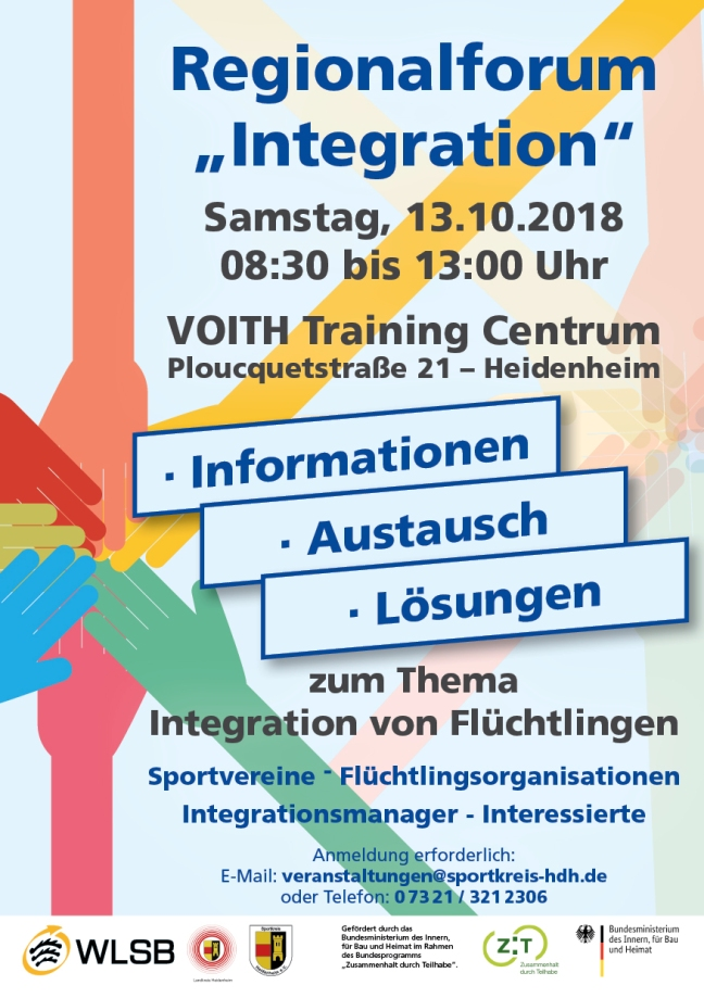 Sportkreis Plakat Integration web